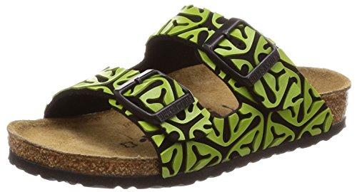 BIRKENSTOCK Arizona Kids MF Seaweed Green: : Schuhe