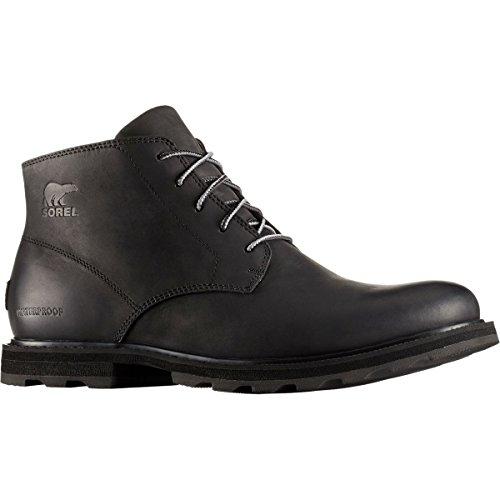 Sorel Herren Madson Chukka Waterproof Klassische Stiefel Schwarz (Black, Black 011)