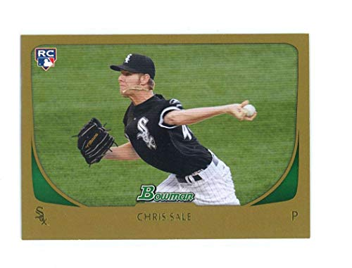 2007 Bowman Gold 220 Chris Sale Rookie Card Near Mint Condition Ships in New Holder ()