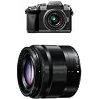 Panasonic G7 Mirrorless Digital Camera w 14-42mm + 35-100mm Lens Bundle