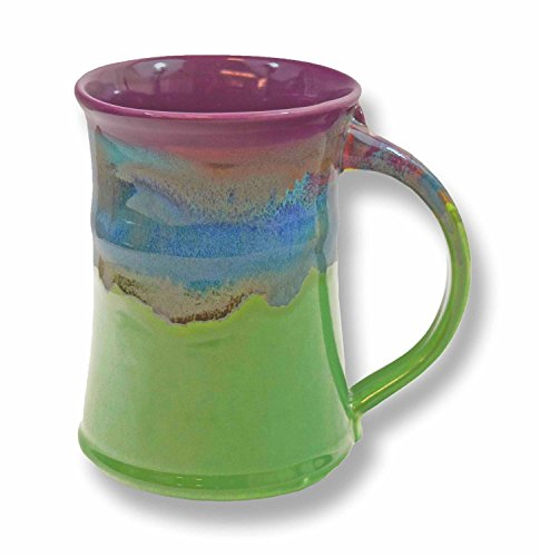 Clay in Motion Handmade Ceramic Large Mug 20oz - Mossy -