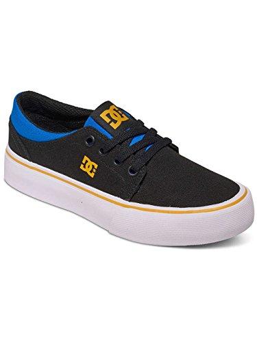 DC Shoes ADBS300251, Zapatillas Niños negro, azul y gris
