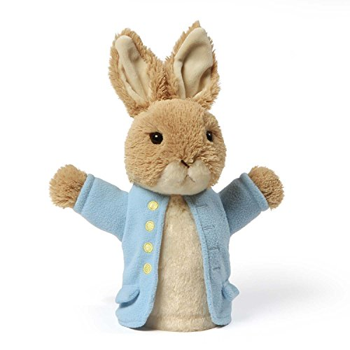 GUND Classic Beatrix Potter Peter Rabbit Stuffed Animal Plush Hand Puppet, 8.5