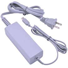 Patec AC Power Adapter Cable for Nintendo Wii U Gamepad Remote Controller