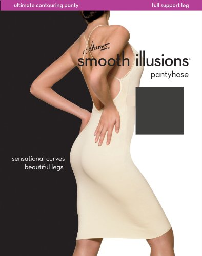 Hanes 0C104 Smooth Illusions Ultimate Contouring Pantyhose - Barely There - IJ 0C104