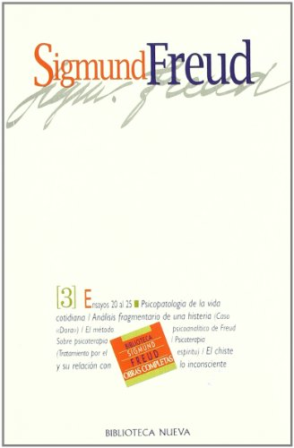 Sigmund Freud - Tomo 3 (Spanish Edition) by Biblioteca Nueva