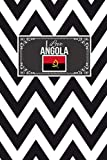 I Love Angola: Patriotic Country National Flag Gift Journal Notebook