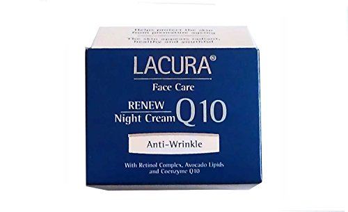 Lacura anti-wrinkle Coenzyme Q10Night Cream With Retinol FOR ALL SKIN TYPES BY NIGHT Q10