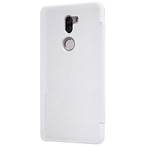 LSY PU funda case cubierta cover para Xiaomi 5s plus (negro) blanco