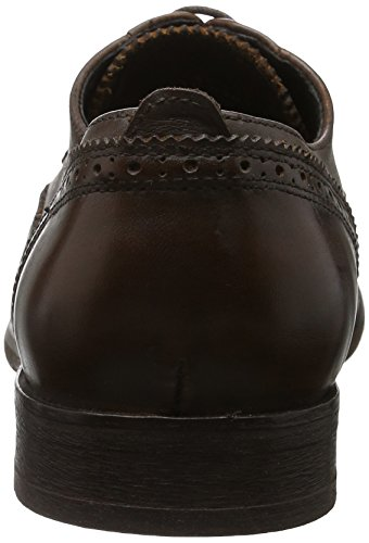 Hudson London Herren Ashford Calf Brown Derby Braun (Brown)