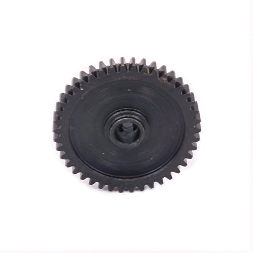 RCAWD 42T Reduction Gear #45 Steel A580065 for Type B for Rc Hobby Model Car 1/18 Wltoys A959 A969 A979 K929(Black)