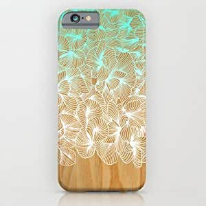Society6 - Abstract Pattern On Wood iPhone 6 Case by Cat Coquillette