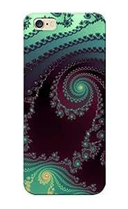 High Quality Rdh300FplEg Fractal Spirals Tpu Case For Iphone 6 Plus