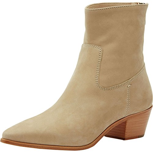 FRYE Women's Ellen Short Western Boot, Taupe, 10 M US by FRYE