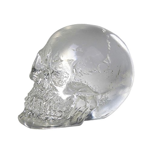 Gift2Smile Clear Crystal Like Mini Skulls Figure. Cute! Halloween Decor Collectible Mini Figurine.So Cool