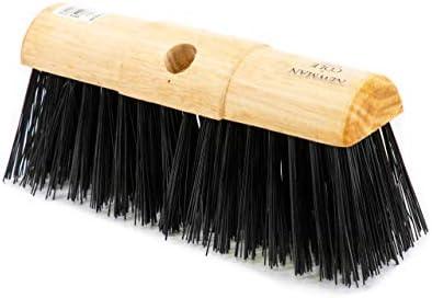 Newman and Cole - Cepillo para sillín de jardín (33 cm) Cabezal de escoba de poliestireno, 33 cm 13