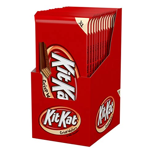 KIT KAT Chocolate Candy Bar, Extra Large for Gifts and Gift Bags (Pack of 12)