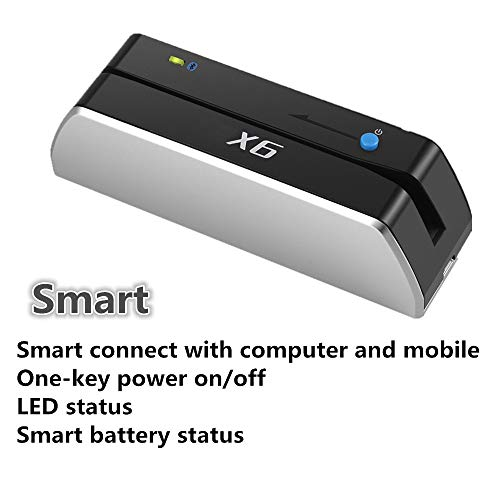 Smallest X6BT Bluetooth USB-Powered Card Reader Writer USB Blank Card Writer Card Device