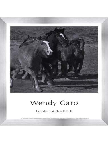 【即出荷】 Leader of the Pack by Frame B01NBIKDXM Wendy Caro – the 12 x 15.75インチ – アートプリントポスター LE_583305-F9935-12x15.75 Stainless Steel Wood Frame B01NBIKDXM, トランパラン:e5fe1289 --- a0267596.xsph.ru