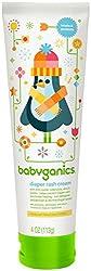BabyGanics Hiney Helper  Soothing Diaper Cream - Fragrance Free - 4 oz