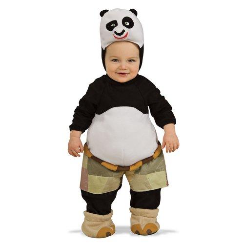 Kung Fu Panda Romper And Head Piece Po, Po Print, 0-9 Months (12 to 17 (Baby Kung Fu Panda Costume)
