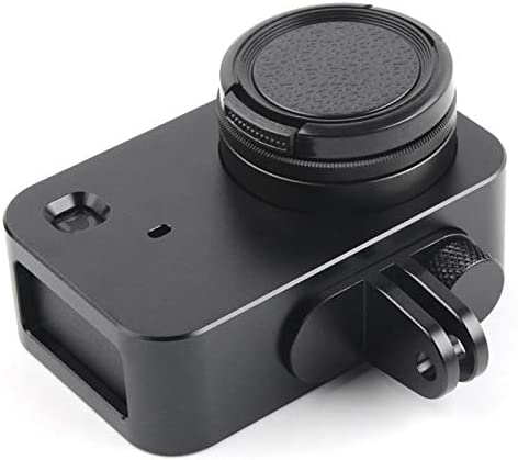 Housing Shell Aluminum Alloy Protective Cage with 37mm Filter Lens /& Lens Cap /& Screw for Xiaomi Mijia Small Camera Black Color : Black for DJI Gopro Action Camera