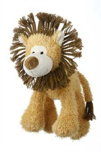 Multipet's Mane Event 11-Inch Lion Plush Dog Toy