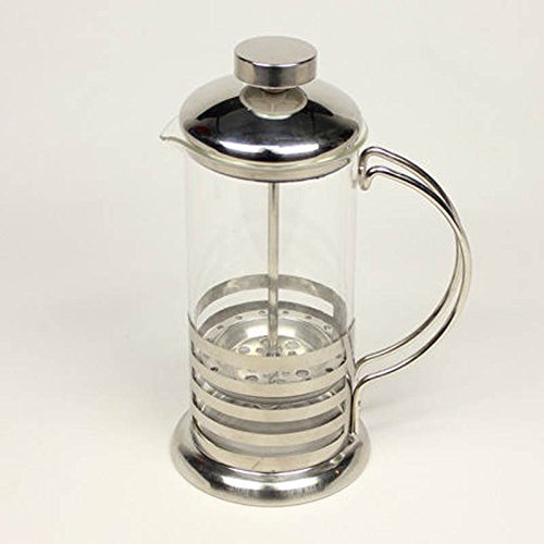 MAZIMARK--600ml Stainless Steel French Press Coffee Cup Tea Maker Cafetiere Filter New