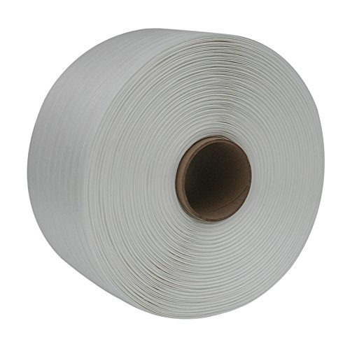 PACSTRAP Woven Poly Cord Strapping Single Coil, 650 lb