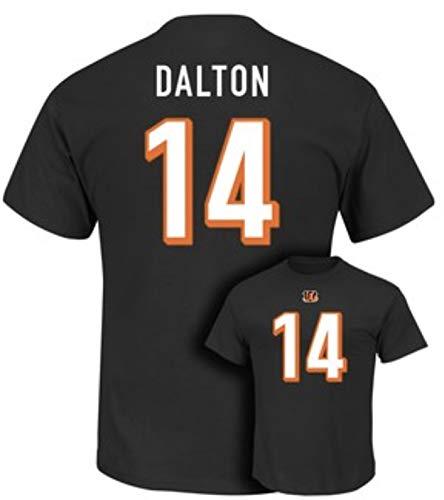 Shop T-shirt Andys - Majestic Cincinnati Bengals Andy Dalton Eligible Receiver t-Shirt - Large