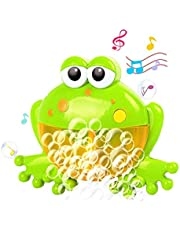Baby Bath Bubble Toys, Auto Frog Bubble Maker with 12 Nursery Rhyme for Kids