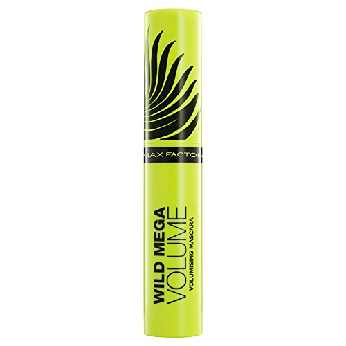 Max Factor Black Mascara (Max Factor Wild Mega Volume Volumising Mascara for Women, Black, 11 Ounce)