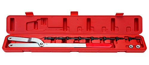 Universal Pulley Holder (8milelake Universal Pulley Holder Spread Interchangeable Pin Fan Clutch Tool Set)