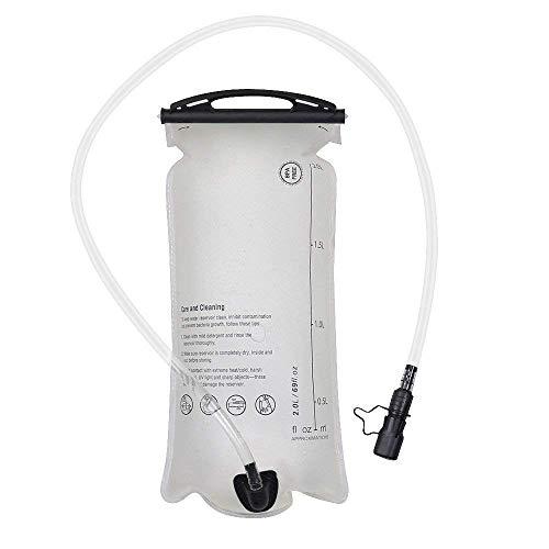 MATT SAGA Water Bladder Hydration Pack Bladder, 3 Litter 2 Liter 1.5 Liter Insulated Reservoirs BPA Free Bladder Replacement for Backpack Outdoor Running Hiking Climbing