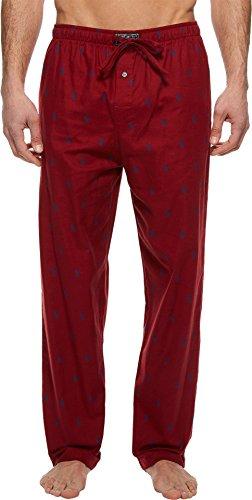 Polo Ralph Lauren Men's Flannel PJ Pants Avenue Red/Royal Medium