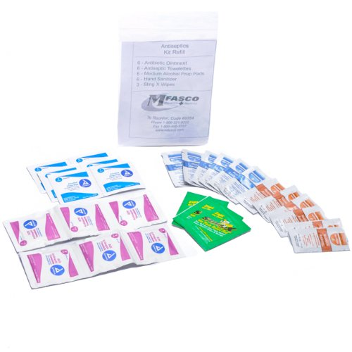 Amazon.com: Personal First Aid Kit Refill Pack: Health