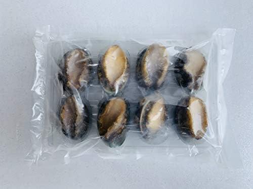 酒蒸しアワビ(8粒)600g中国産 蝦夷あわび
