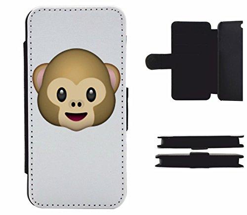 """Leder Flip Case Apple IPhone 5C """"Affenkopf"""", der wohl schönste Smartphone Schutz aller Zeiten."""