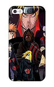 Excellent Iphone 5/5s Case Tpu Cover Back Skin Protector Narutos