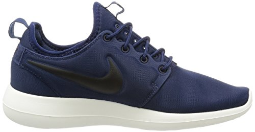Two volt Black De Para midnight Nike Roshe Running Zapatillas Azul Navy sail Hombre awqxH57vx