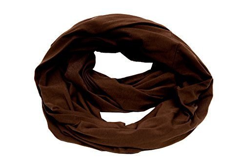 MadisonRose 100% Premium Cotton - Nursing Scarf & Nursing Cover for Breastfeeding - Soft - Covers Front And Back (Classic Brown)