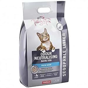 Trouble & Trix Odour Neutraliser Cat Litter Anti Bacterial Soda 7L