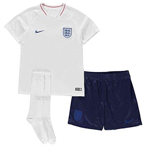 NIKE 2018-2019 England Home Mini (Nike Youth Football Kits)