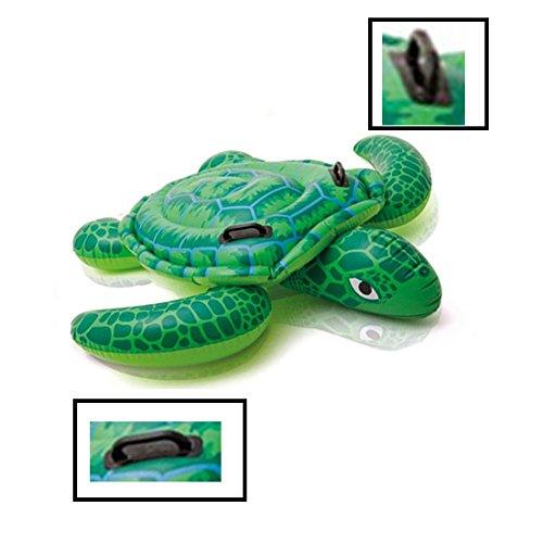 XYHLM Anillo De La Nadada, Agua Verde Flotante del Flotador del Agua De La Tortuga del PVC del PVC, Especificación: 1.5 Metros,M: Amazon.es: Deportes y aire ...