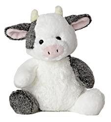 "Aurora World Sweet & Softer Clementine Cow 12"" Plush"