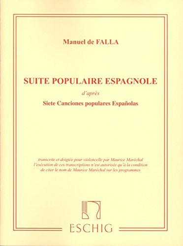Falla: Suite Populaires Espagnole (after 7 Canciones populares Espanolas)