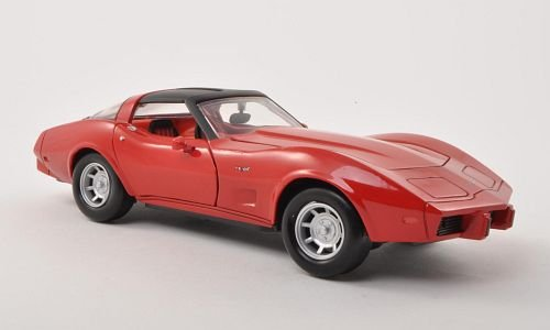 Chevrolet Corvette C3, red, 1979, Model Car, Ready-made, Motormax 1:24 ()