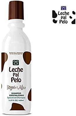 Leche Pal Pelo Rizos Afro For Dry And Damaged Hair