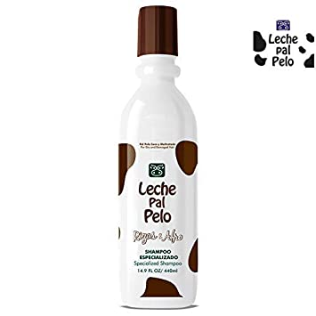 Leche Pal Pelo Rizos Afro For Dry And Damaged Hair Specialized Shampoo Curls Para Cabello