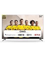 CHiQ U50H7A - 50 inch 4K Ultra HD - Android 9.0 - Chromecast - Dolby Audio